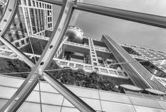 东京- 2016年5月22日:富士电视台总部设现代大厦 它 免版税库存图片