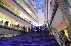 东京- 11月24 :人们在表参道之丘 图库摄影