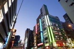东京- 11月21 :秋叶原区2013年11月21日在东京, J 免版税库存图片