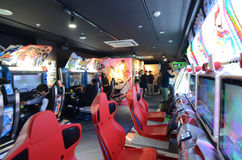 东京- 11月21 :秋叶原区2013年11月21日在东京, J 库存图片