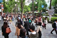 东京购物 免版税库存图片