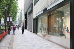 东京购物 免版税库存照片
