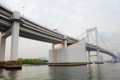 东京 Odaiba 彩虹桥 库存图片