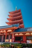 东京- Sensoji籍,寺庙,日本 免版税库存照片