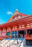 东京- Sensoji籍,寺庙 免版税库存照片