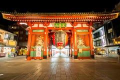 东京Sensoji寺庙 免版税库存图片