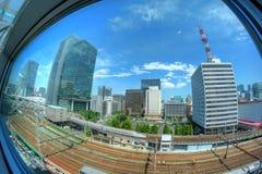 东京Shinkansen 免版税库存照片