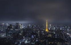 东京Skyview 免版税库存照片