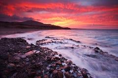 东克利特,希腊海岸。 免版税库存图片