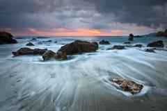 东克利特,希腊海岸。 图库摄影