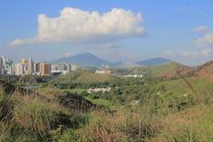 东北镇的新界,香港马草垄 免版税库存图片