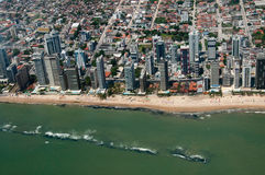 都市的海岸 图库摄影