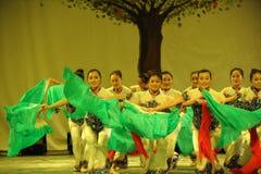 东北yangko舞蹈2011舞蹈课毕业音乐会党 免版税图库摄影