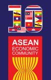 东南亚国家联盟 免版税图库摄影
