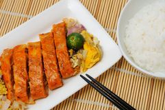 东南亚洲创造性的烹调 免版税图库摄影