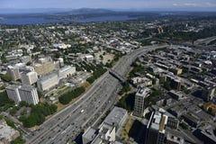 东南的西雅图,状态华盛顿,美国 免版税库存图片