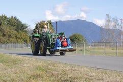 东印度人加拿大农夫 免版税库存照片