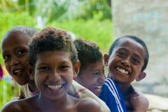 东帝汶的孩子 免版税库存照片