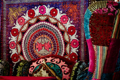 东方亚洲地毯 库存照片