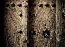 东方古老的门 库存图片