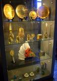 东方古色古香的人工制品 库存照片