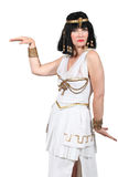 东方女性舞蹈演员 免版税库存图片