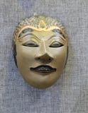 东方女神面具 库存照片