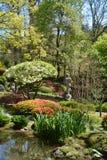 东方庭院 Maulevriere,法国 库存照片