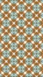 东方无缝的几何样式 栅格无缝的花卉样式,栅格传染媒介样式,图形设计打印行样式 库存例证