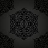 东方无缝的样式 抽象背景 免版税库存照片