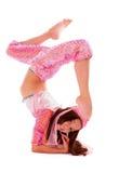 东方服装的女孩 图库摄影