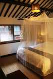东方样式卧室 库存照片