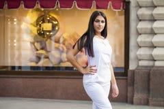 东方样式 肉欲的阿拉伯妇女模型 库存照片