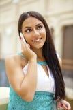 东方样式 肉欲的阿拉伯妇女模型 免版税图库摄影