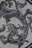东方模式石头 库存照片