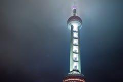 东方珍珠塔电视 免版税库存图片