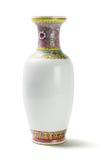 东方瓷花瓶 免版税库存照片