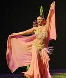 东方舞蹈家土耳其腹部舞蹈这奥地利的世界舞蹈 免版税库存图片