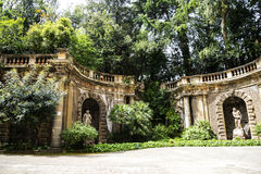 东方艺术博物馆的庭院在罗马意大利 免版税库存照片