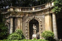 东方艺术博物馆的庭院在罗马意大利 库存照片