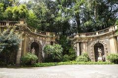 东方艺术博物馆的庭院在罗马意大利 库存图片
