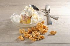 东方阿拉伯甜点板材  免版税库存图片