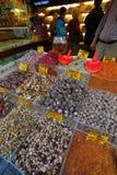 东方香料和茶,盛大义卖市场 库存图片