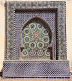 东方马赛克在摩洛哥 库存照片