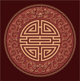 东方Feng Shui模式 免版税库存照片