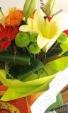 东方lillies 免版税库存图片