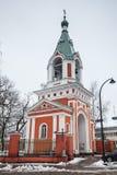 东正教在哈米纳,芬兰 库存照片