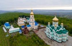 东正教在Bancheni村庄  免版税库存图片
