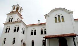 东正教在Paralia,希腊 库存图片