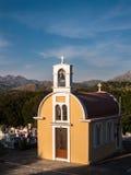 东正教教堂在克利特,希腊 免版税图库摄影